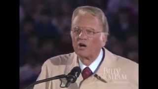 Billy Graham   'Another Road, Another Chance Portland Sermon 1992