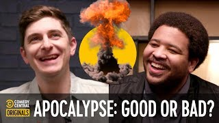 Supervirus, Zombies, and Rich People - Comedians Solve World Problems