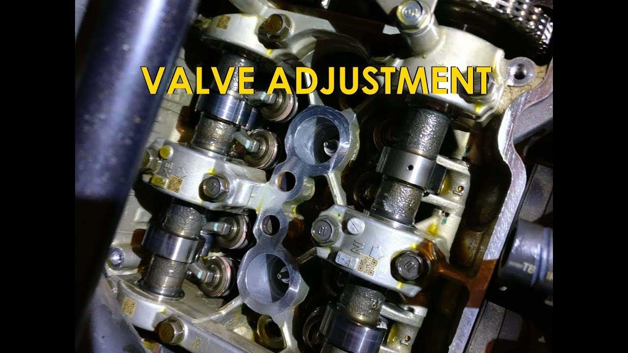 Valve Adjustment Shim Type Honda Cbr
