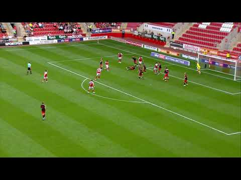 Rotherham Fleetwood Town Goals And Highlights