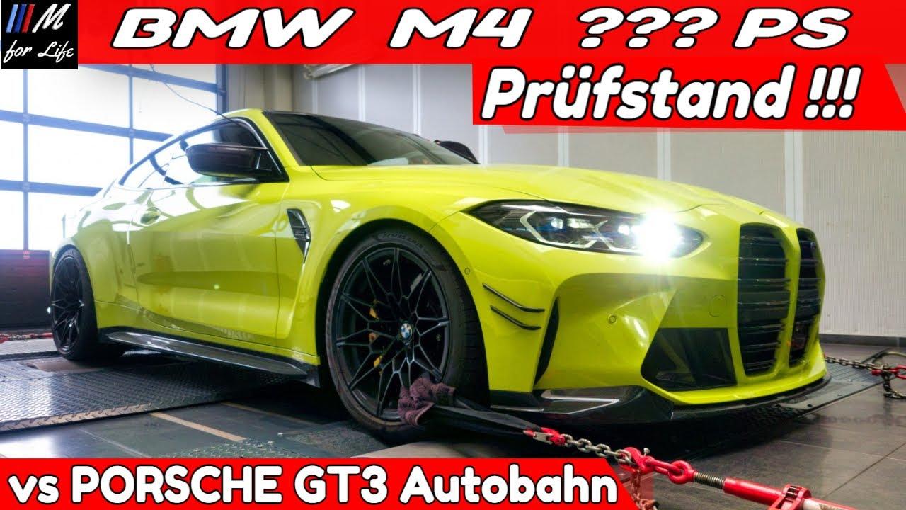 New BMW M4 2021 vs PORSCHE GT3 VMAX ꓲ Leistungsprüfstand ꓲ MTO Engineering