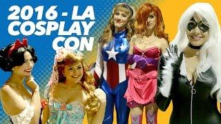 Awkward Trivia with Cosplay Girls - LA Cosplay Con 2016