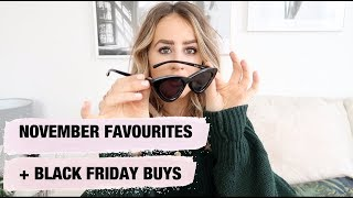 NOVEMBER FAVOURITES AND BLACK FRIDAY BUYS | Fashion Slave | sophie milner