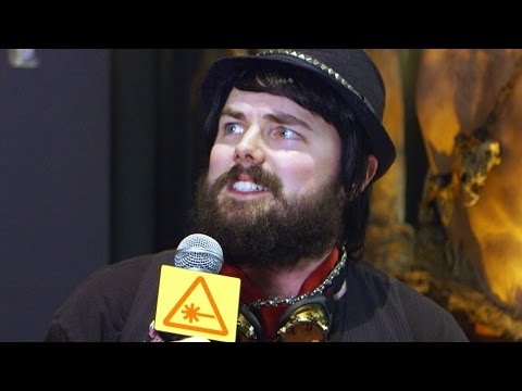Warcraft Trailer FAN REACTIONS! (Weird Gamer Guy) - Blizzcon 2015 - YouTube