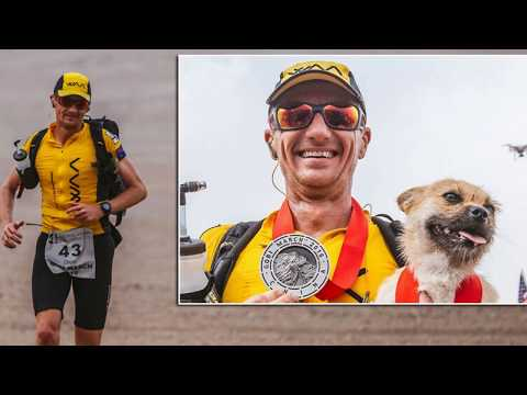 Heartbreak Over As Ultra Marathoner And Dog Reunite - Happy Ending For Dion Leonard & Gobi The Dog