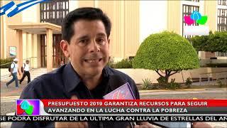 Asamblea Nacional aprueba por unanimidad Presupuesto General de la Republica 2019