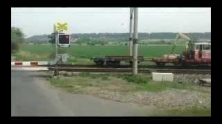 Train crossing - Funny video