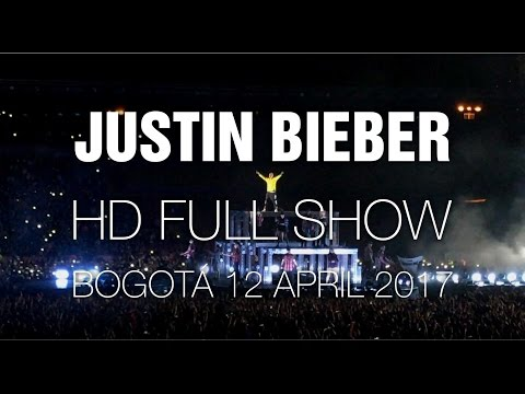 Justin Bieber [HD Full Concert] @ Bogotá 12 Apr 2017 (Laptop only)