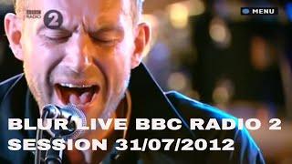 Blur BBC_Radio2_Session_2012-07-31