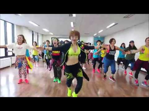 Reggaeton/Clean Bandit ft. Sean Paul & Anne-Maria - Rockabye(Moshe Buskila Remix) / Zumba Korea TV