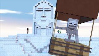 Minecraft Escola Monstro #38 - Volta Ao Mundo !!  Monster School