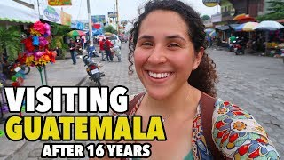 Visiting Guatemala After 16 Years|La Nueva Concepción|Guatemala Travel Series PT 1|WhatWouldKarlaSay