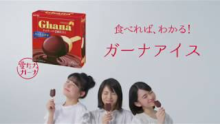 チョコごと、まるごと、とろけるアイス ガーナアイス https://www.lotte...