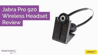 Jabra Pro 920 Wireless Headset Review