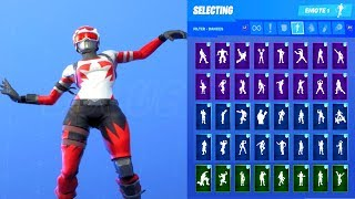 MOGUL MASTER (CAN) SKIN SHOWCASE WITH ALL FORTNITE DANCES & EMOTES