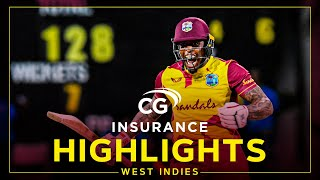 Highlights | West Indies vs Sri Lanka | Fabian Allen Finish with Fireworks! | 3rd CG Insurance T20I