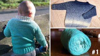 baby pullover stricken raglan von oben. Black Bedroom Furniture Sets. Home Design Ideas