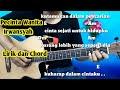 Kunci Gitar Irwansyah Pecinta Wanita - Tutorial Gitar By Darmawan Gitar