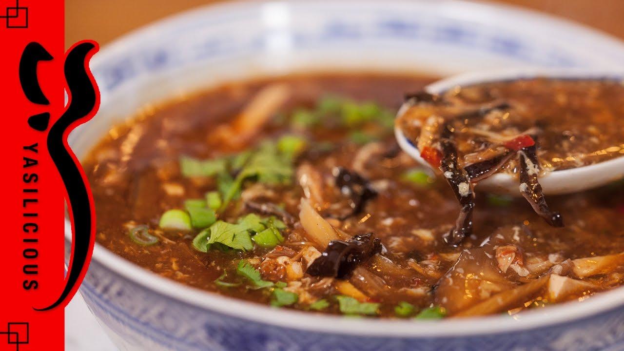 Pekingsuppe sauer scharfe suppe la yasilicous for Chinesisch kochen