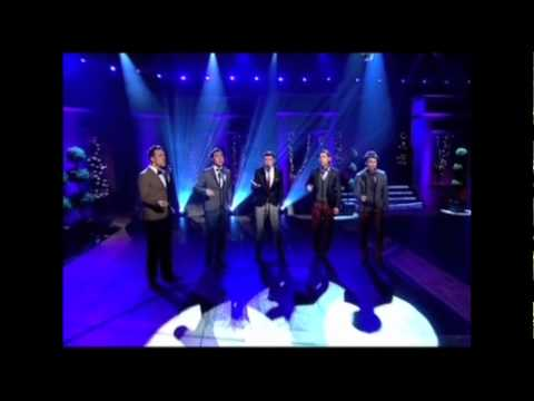 The Overtones - The Longest Time   Live on The Alan Titchmarsh Show