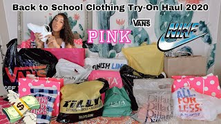 HUGE back to school clothing try-on haul 2020