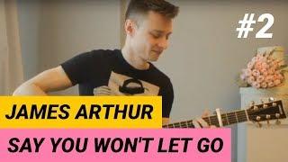 Ваня, научи! | как играть Say you won't let go | Уроки гитары в Минске