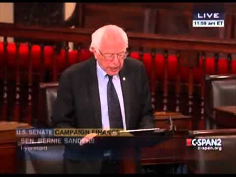 Bernie Sanders On Campaign Finance Reform