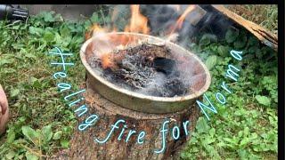 Healing fire for Norma, Queen of Hearts aka Mrs, Bill the Welder #healingfire