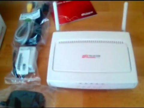 Modem Router Alice Telecom Pirelli ADSL 2 Plus Wi-Fi N 125mbps - MODELLO 2011