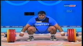 *Snatch World Record Hossein Rezazadeh