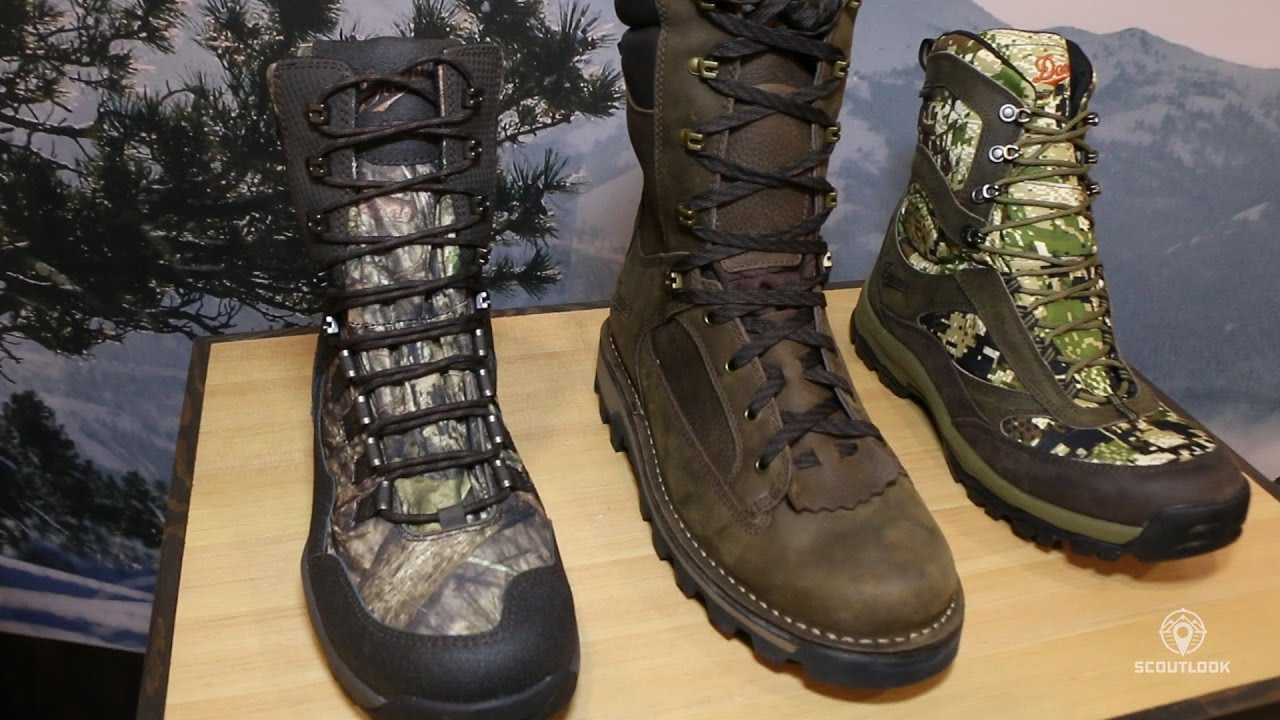 Danner Offers New Breed Of Athletic Hunt Boots New Youtube