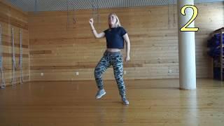 Танцуйте с нами! Afro Dance! Обучение танцам! Урок № 1.