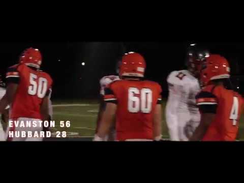 Evanston vs. Hubbard Week 1 (ETHS 56 - Hubbard 28)