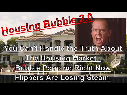 Housing Bubble 2.0 - You Can't Handle the Truth - Bubbles Are Popping - Q3 Flipping Report