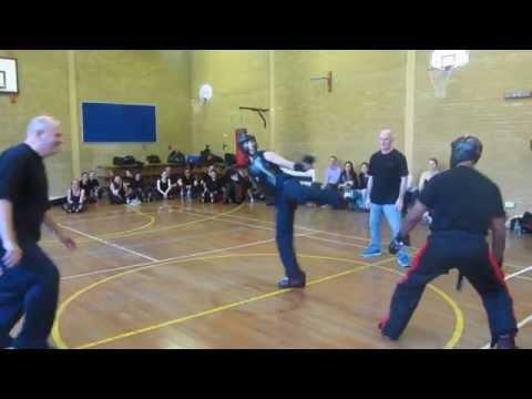 Kevin Brewerton V Kelly Bunyan at KB Kickboxing