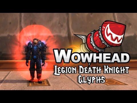 Legion Death Knight Glyphs