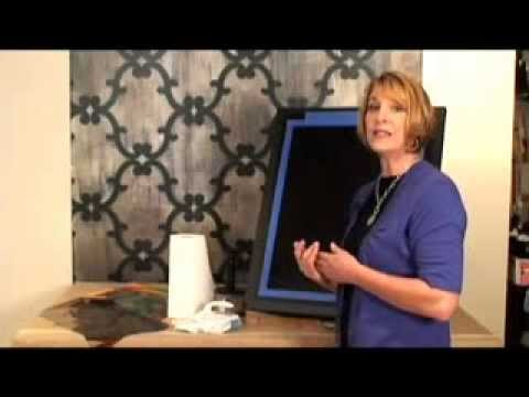 Royal Design Studios- How to Use Metallic Foil for Faux Finishes Part 1.mp4