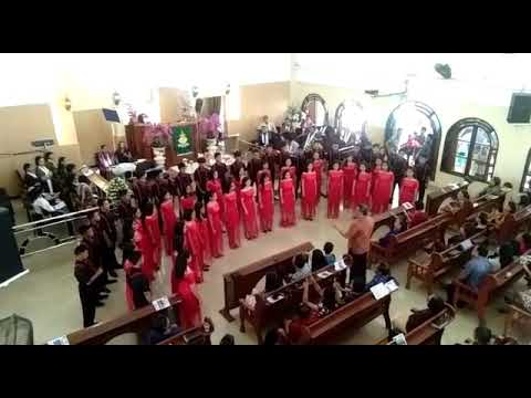 Hymne remaja GMIM,Kalvari Pineleng teens choir