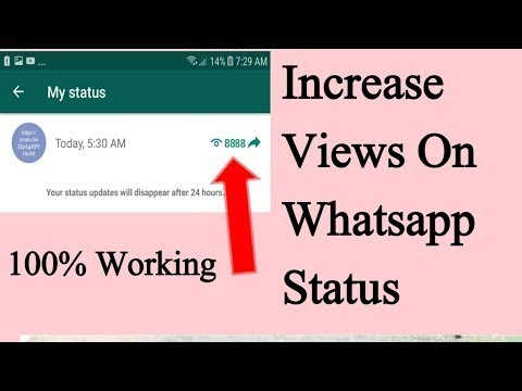 How To Increase Whatsapp Status Views Real 100 Original