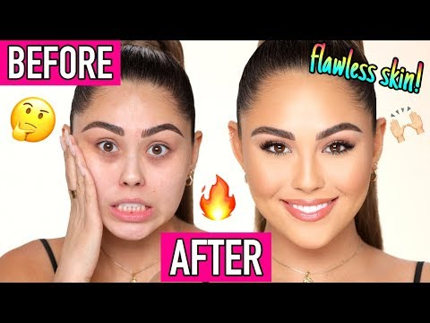 FULL COVERAGE, Long Lasting Foundation Routine for Beginners!!   Roxette Arisa thumbnail
