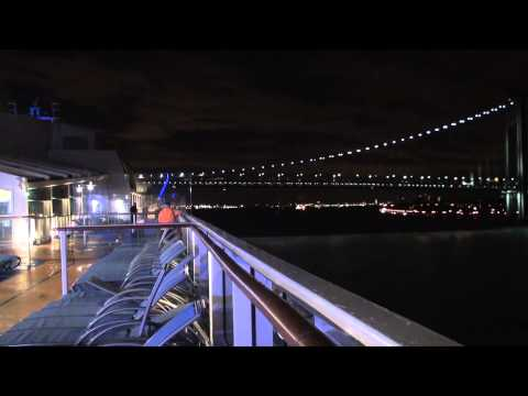 Quantum of the Seas: Bayonne Arrival on December 12, 2014