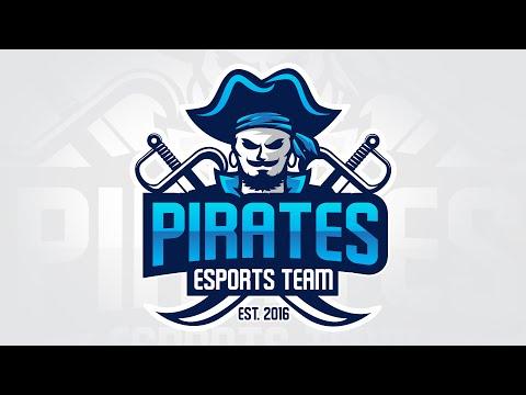 Adobe Illustrator CC Tutorial:  E-Sports / Sports Logo for Your Team - Pirates Logo