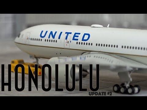[Homemade] 1/400 Daniel K. Inouye Honolulu International Airport   Update #2