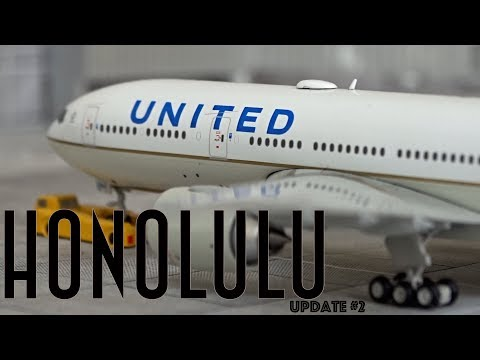 [Homemade] 1/400 Daniel K. Inouye Honolulu International Airport | Update #2