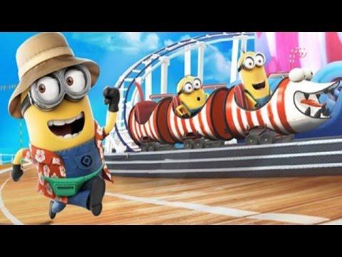 Despicable Me 2: Minion Rush Super Silly Fun Land Part 10 - Minion Fun Fair