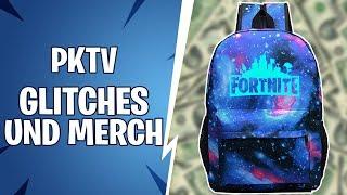 Fortnite Glitch und Merch bei PKTV | #Ehregeglitcht