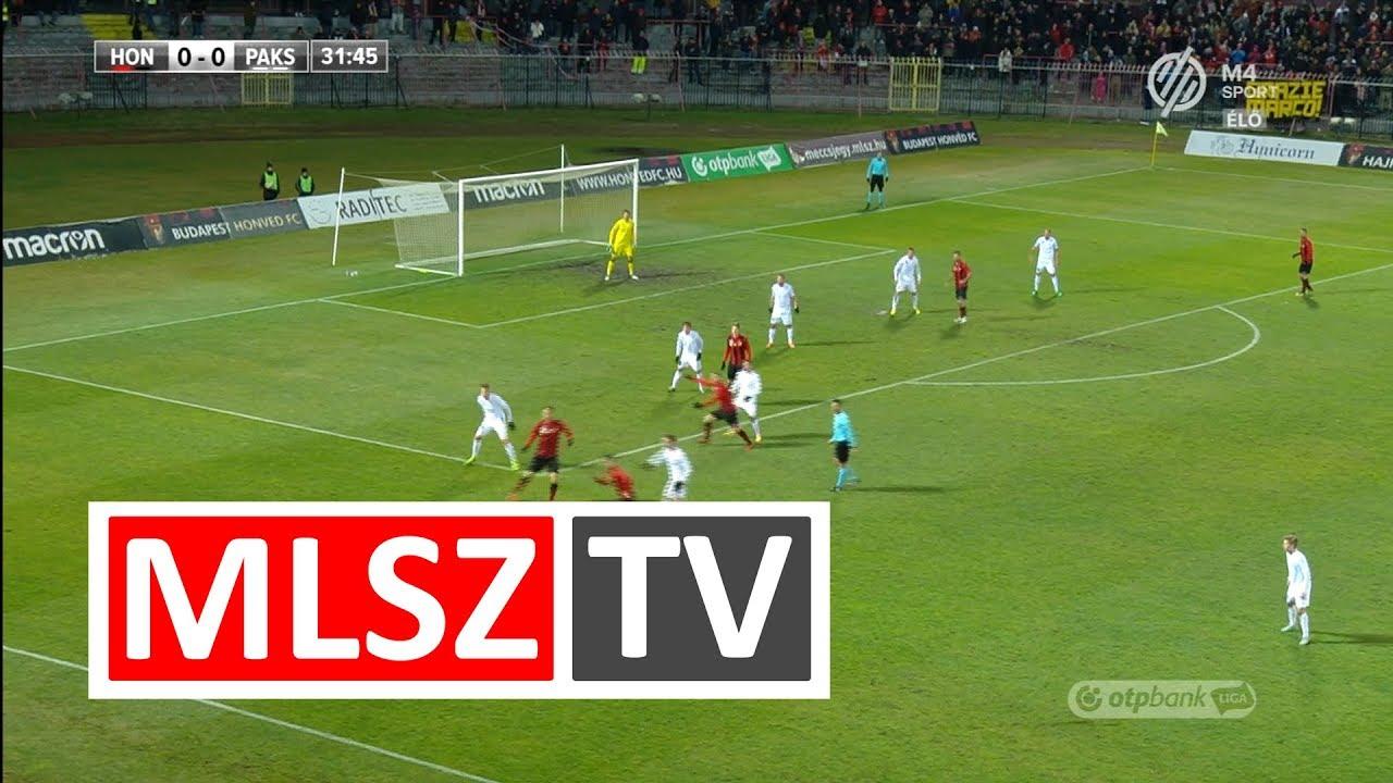 Budapest Honvéd - Paksi FC | 1-0 (0-0) | OTP Bank Liga | 19. forduló | 2017/2018 | MLSZTV