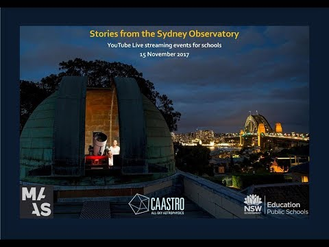 Stories from the Sydney Observatory, Days of Darkness