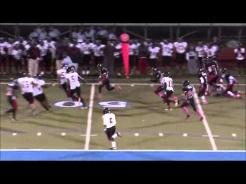Westside Christian Academy Warriors football William Johnson #51 Highlights of 2012 season