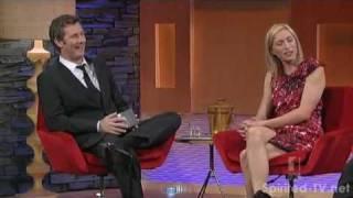 Claudia Karvan on Adam Hills In Gordon St Tonight